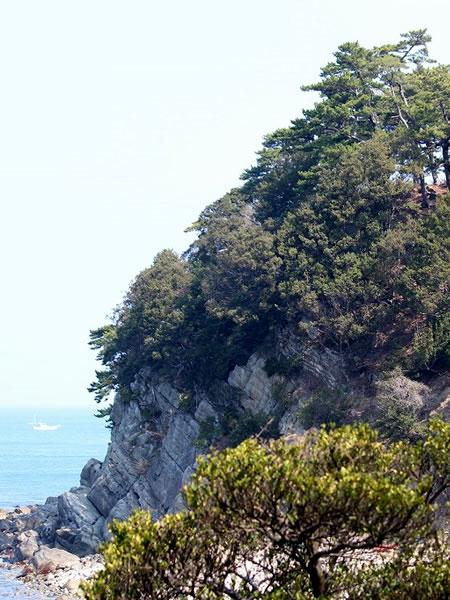 虎島の風景