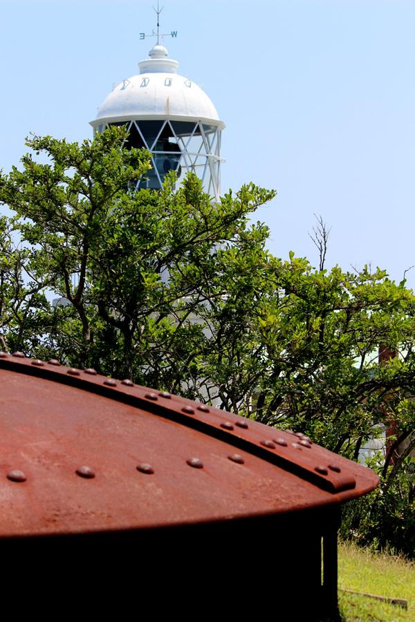 砲台跡からの灯台