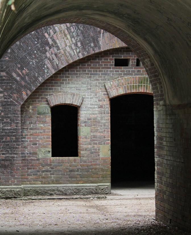 トンネルからの風景