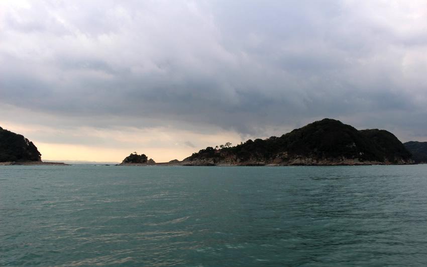 雨の友ヶ島