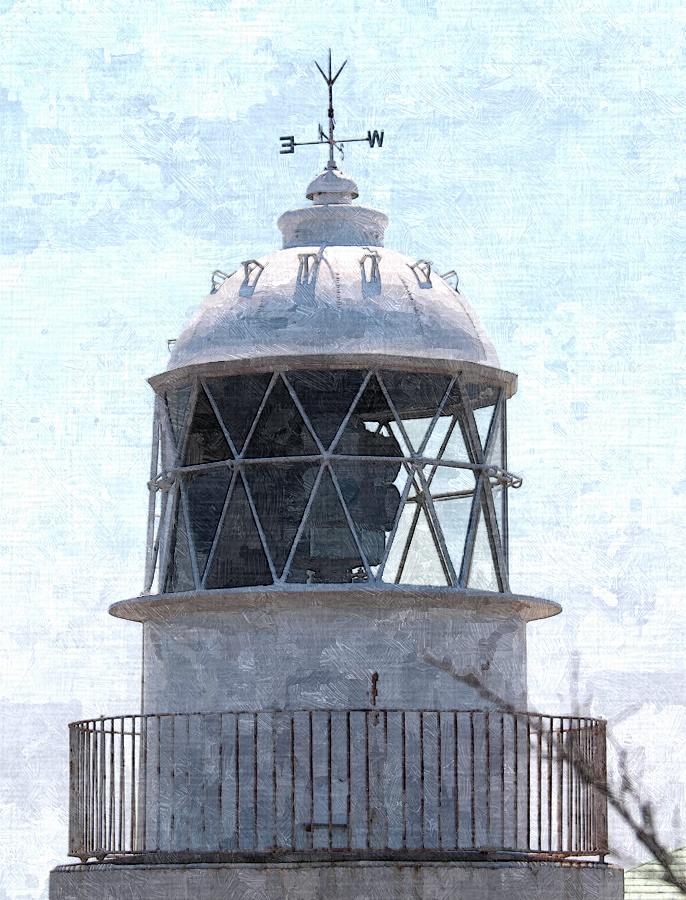 友ヶ島灯台 (アップ)